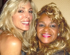 Raven and Marla Maples